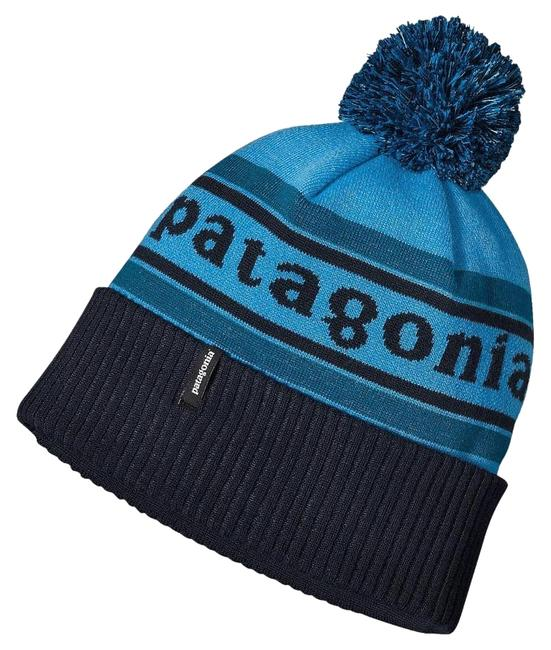 Item - Blue Powder Town Beanie Park Stripe Underwater Logo Pom Hat