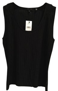 BCBGMAXAZRIA Sleeveless Top Black