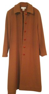 Preston & York Vintage Full Length Overcoat Like New Wool Trench Coat