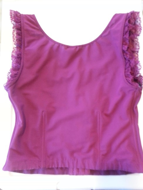 Moda International Sexy Night Out Date Night Victorias Secret Top Raspberry