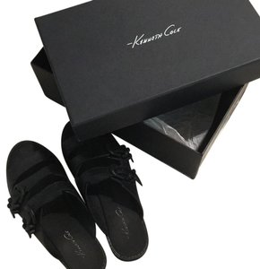 Kenneth Cole Black noir negro Sandals