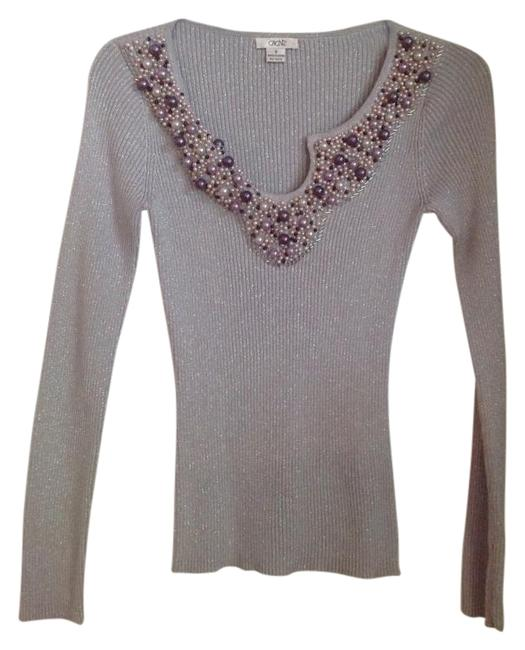 Item - Perfect Condition Silver with Beads Top