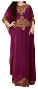 magneta Maxi Dress by Other