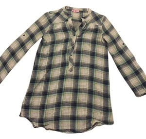 Opull'ence Flannel Casual Tunic