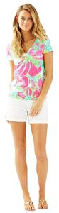 Lilly Pulitzer Don't Give A Cluck Michele T Shirt Pink