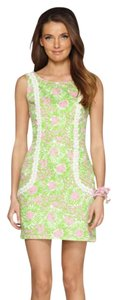 Lilly Pulitzer short dress Cabana Pink Shift on Tradesy