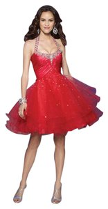 Mori Lee Embroidered Prom Dress
