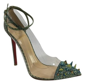 Christian Louboutin Version Green Pumps