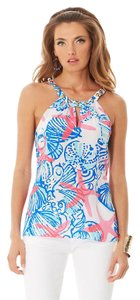 Lilly Pulitzer She She Shells Rogan Halter Top