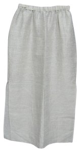 Eileen Fisher New Nwt Long Skirt beige gray