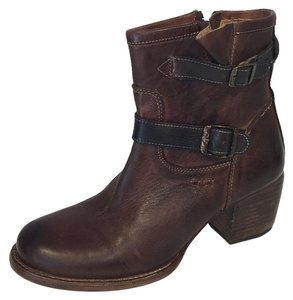 Bed|Stü Distressed Brown Boots