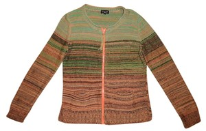 Spense Bohemian Striped Earth Tones Cardigan