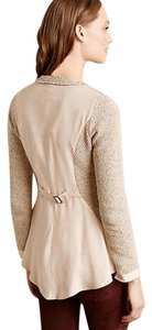 Anthropologie Angel Of The North High Low Jacket Wool Blend Sweater