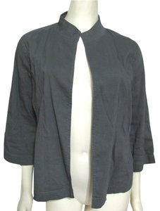 Eileen Fisher Open Front Shirt S Cardigan