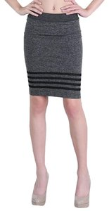 Nikibiki Pencil Seamless Skirt Black