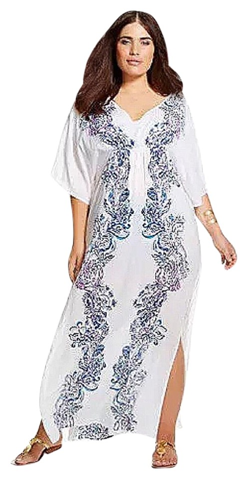892e2de106d01 Lilly Pulitzer for Target Lilly Pulitzer Kaftan Cover-Up in Wavepool Image  0 ...