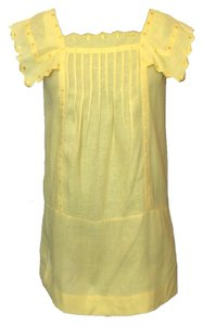 See by Chloé short dress Yellow on Tradesy