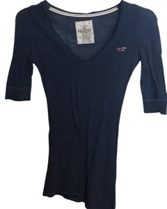 Hollister T Shirt Navy
