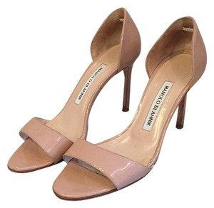 Manolo Blahnik Nude Formal