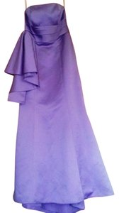 Alfred Angelo Gown Bridemaids Purple Dress