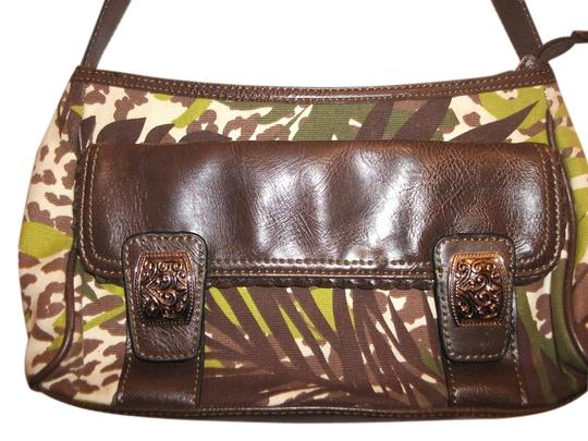 Preload https://item5.tradesy.com/images/jaclyn-smith-collection-safari-greenbrown-cloth-shoulder-bag-1681509-0-0.jpg?width=440&height=440