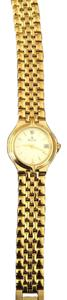 Bulova Diamond Gold watch