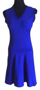 Sandro short dress Blue on Tradesy