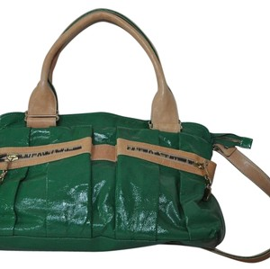 See by Chloé Chloe Patent Leather Satchel in Green
