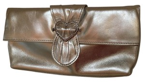 Brighton Convertible Silver Clutch