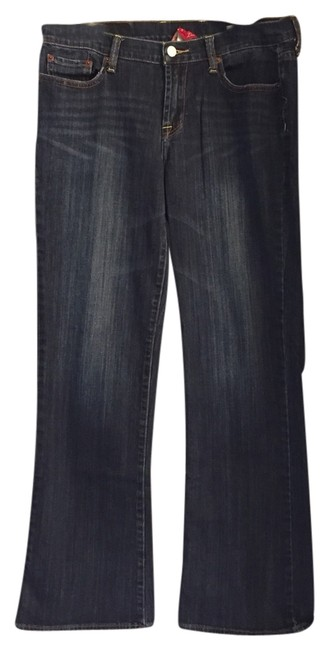 Item - Dark Blue Wash Rinse Relaxed Fit Jeans Size 31 (6, M)