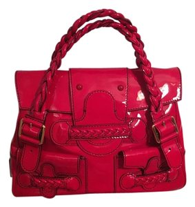 Valentino Garavani New Satchel in Red, lipstick red