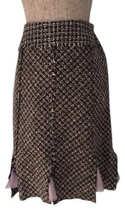 Other Tweed Small Size 6 Pencil Tweed Pencil Tweed Pencil Size Small Size 6 Size Small Size 6 Size 6 Tweed Skirt Black, White, Gray