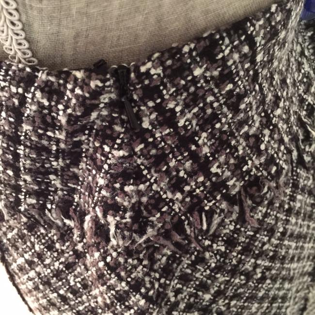 Other Winter Size 6 Classic Size 6 Pencil Skirt Black, White, Gray