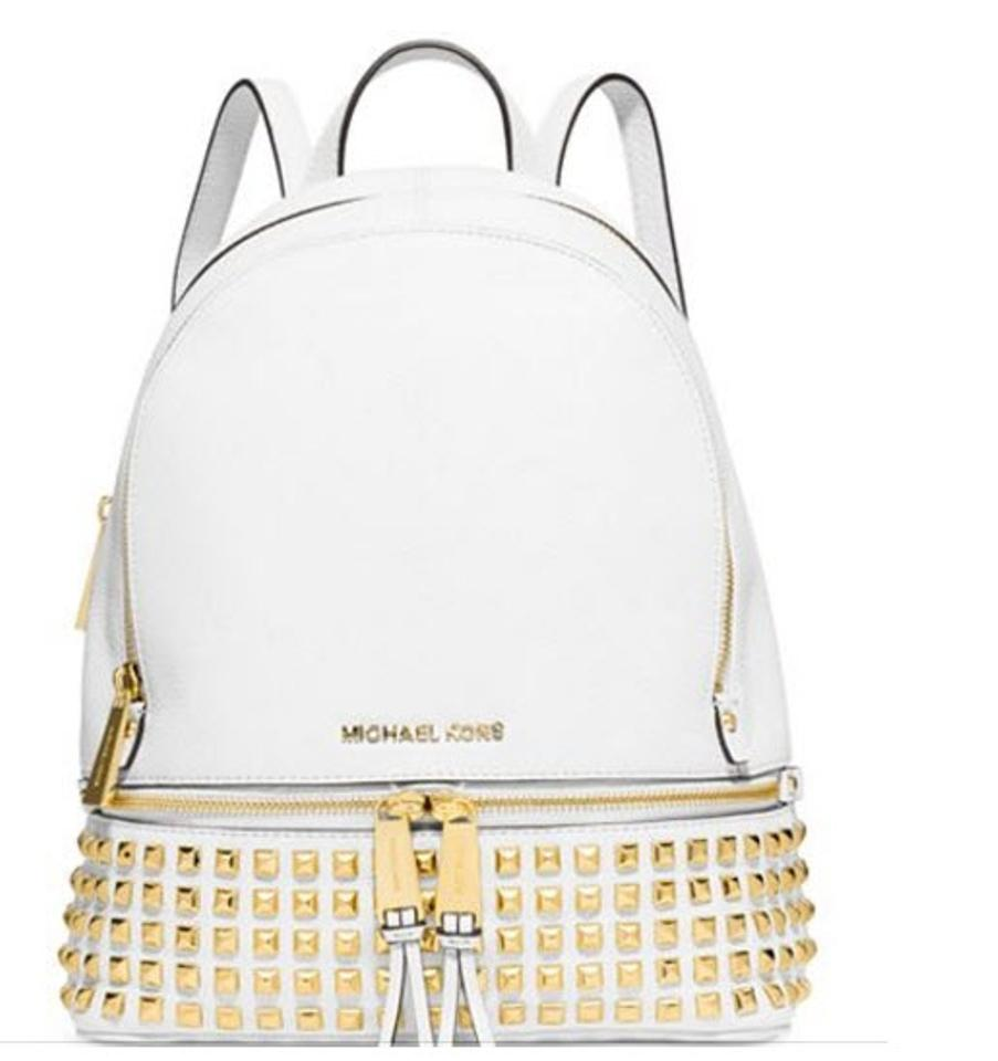 11111579c82f1 ... release date michael kors rhea new with tags studded leather backpack.  12345 92357 8249d