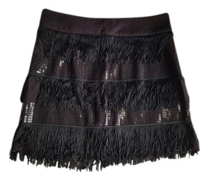 Forever 21 Fringe Summer Coachella Chic Mini Skirt