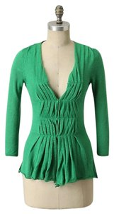 Anthropologie Moth Unwinding Anthro St. Patty's Day Cardigan