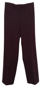 Sag Harbor Dress Stretch Trouser Pants Brown