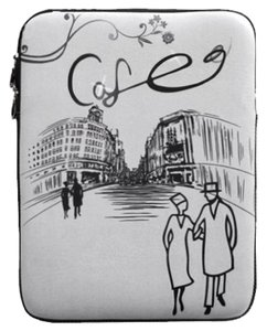 Cafe in Paris Cafe in Paris Padded Laptop Case
