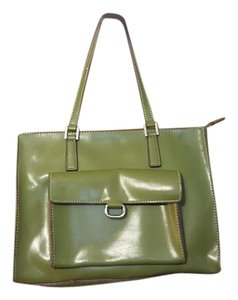 Mondani Satchel in Dark Olive Green