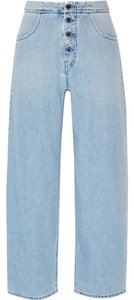 Maison Margiela Straight Leg Jeans-Distressed