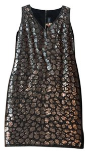 St. John Sequin Embellished Dress