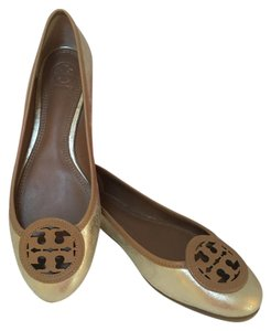 Tory Burch Platinum/blonde Flats