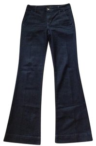 JOE'S Trouser/Wide Leg Jeans-Dark Rinse