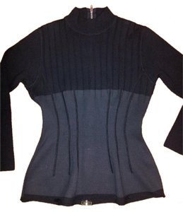 Jean-Paul Gaultier Wool Vintage Wide Rib Sweater