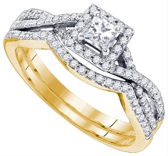 White Gold | Diamond Luxury Designer 14k 0.66 Cttw Set Engagement Ring