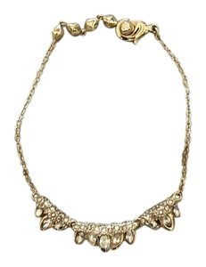 Alexis Bittar Crystal and Gold Bracelet