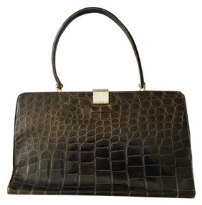 Saks Fifth Avenue Alligator Shoulder Bag