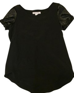 BCBGeneration High-low Night Out Open Back Top Black