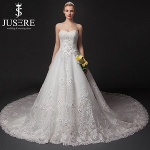 Bow Sweetheart Wedding Dress