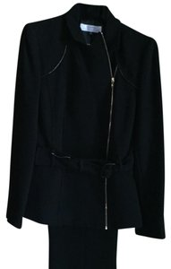 Tahari NWT Black, 2-piece, slacks & jacket, detailed zipper accents, TAHARI Arthur S. Levine
